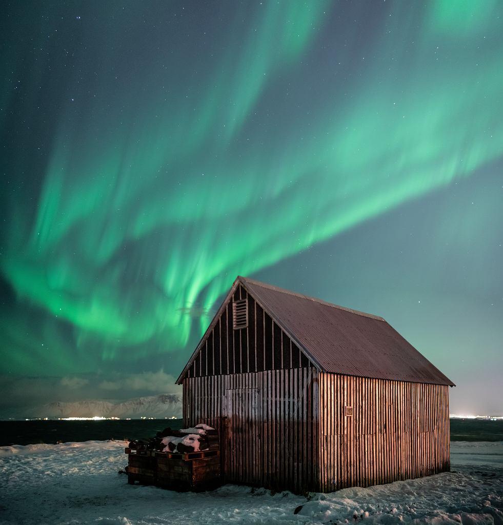 Zorza polarna, Islandia