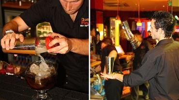 Barman przygotowuje drink. Najlepsi potrafią zrobić z tego prawdziwe show. Fot. Aaron Crowe / CC BY ND Flickr.com