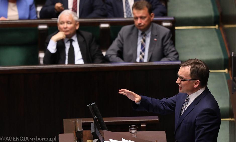 Zbigniew Ziobro o projekcie ustawy o Krajowej Radzie Sadownictwa