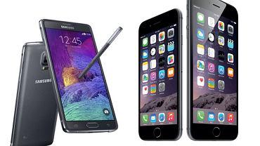 Samsung Galaxy Note, iPhone 6 i iPhone 6 Plus już oficjalnie do kupienia. Zarówno w sklepach jak i u operatorów.