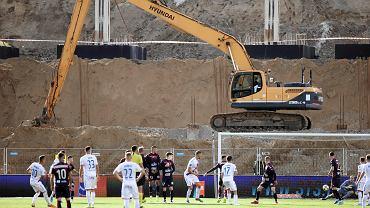 Mecz Pogoń Szczecin - Raków Częstochowa (1:2) i budowa nowego stadionu