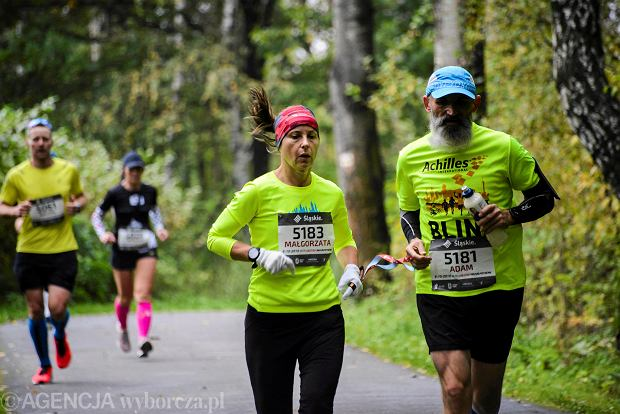 Zdjęcie numer 33 w galerii - Silesia Marathon. Chłód i wiatr niestraszne, rekord pobity! [ZDJĘCIA]