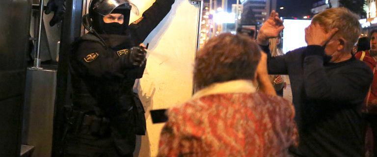 Protesty po zaprzysiężeniu Łukaszenki. Zatrzymano co najmniej 200 osób