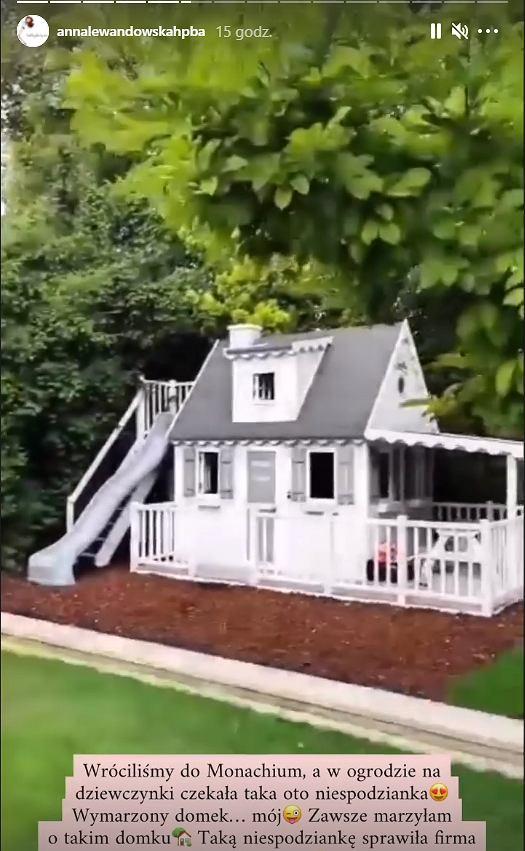 Lewandowscy kupili domek córkom
