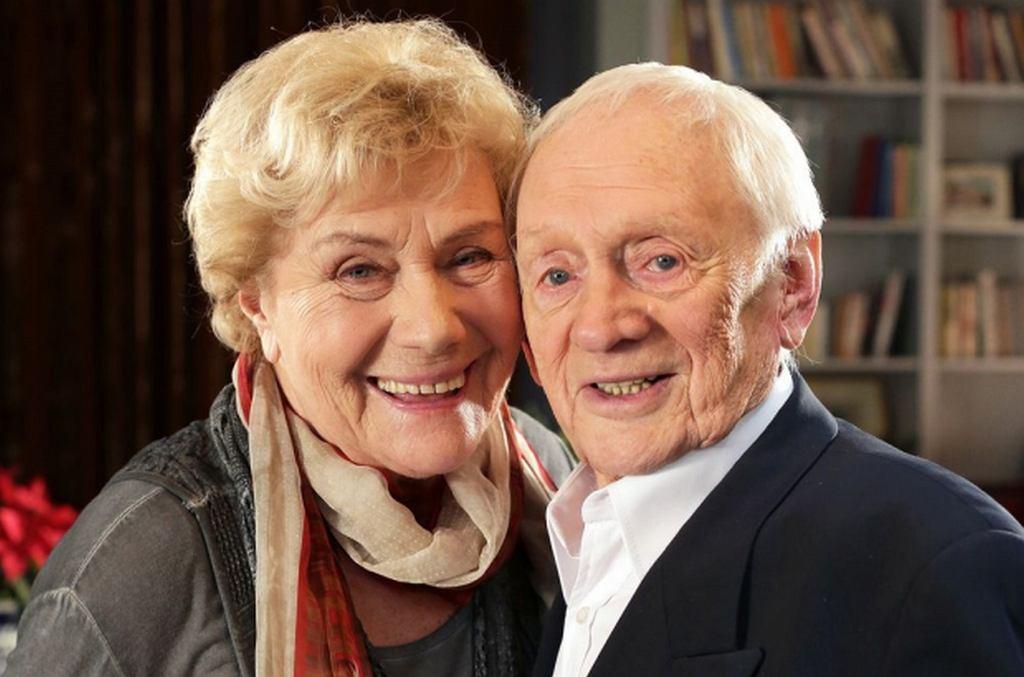 Teresa Lipowska i Witold Pyrkosz