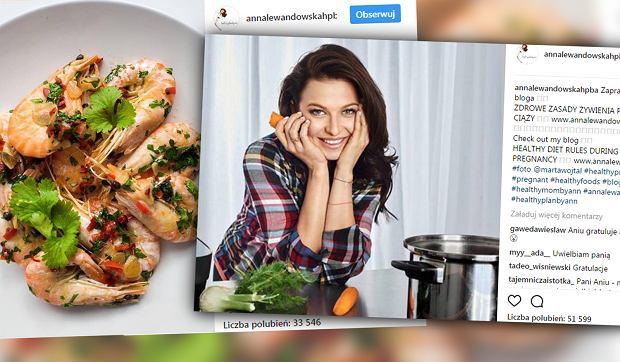 """Anna Lewandowska radzi karmiącym mamom, czego nie jeść. """"Brak wiedzy powala na kolana"""" - piszą"""