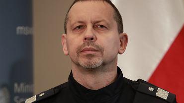 Paweł Dobrodziej, były już komendat stołeczny policji, aktualnie w KGP
