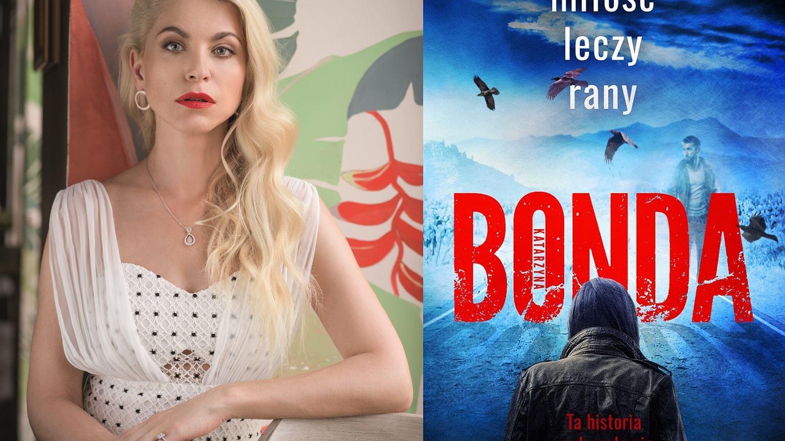Katarzyna Bonda pierwszy raz inspiruje się prawdziwymi zdarzeniami.