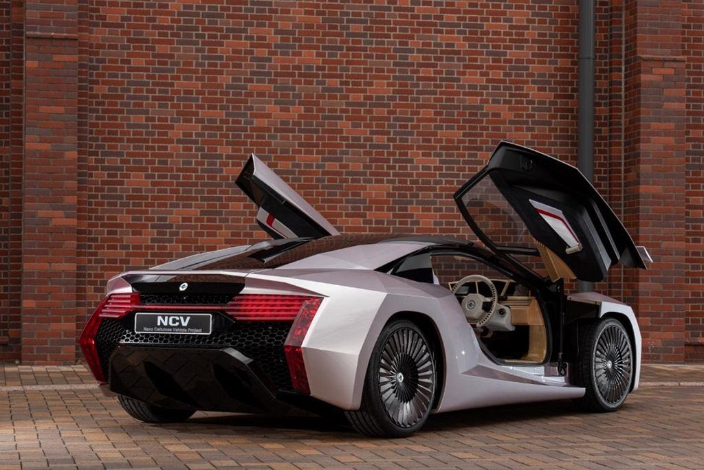 Samochód z nanocelulozy NCV - Nanocellulose Vehicle