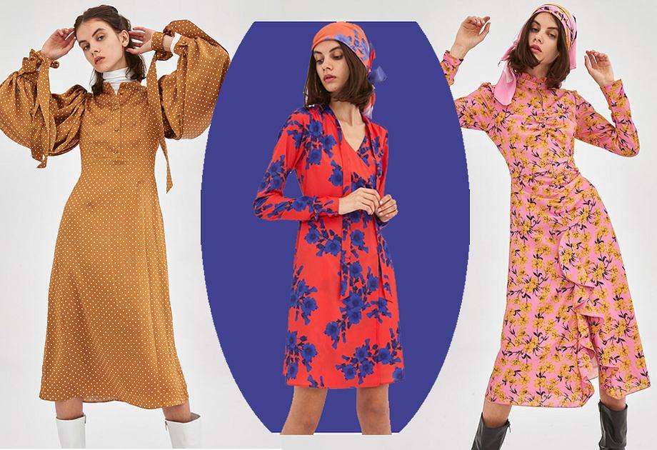 Wyprzedaż w Bizuu - sukienki Armeria (1253 zł), Monita (1253 zł), Azalia (973 zł)