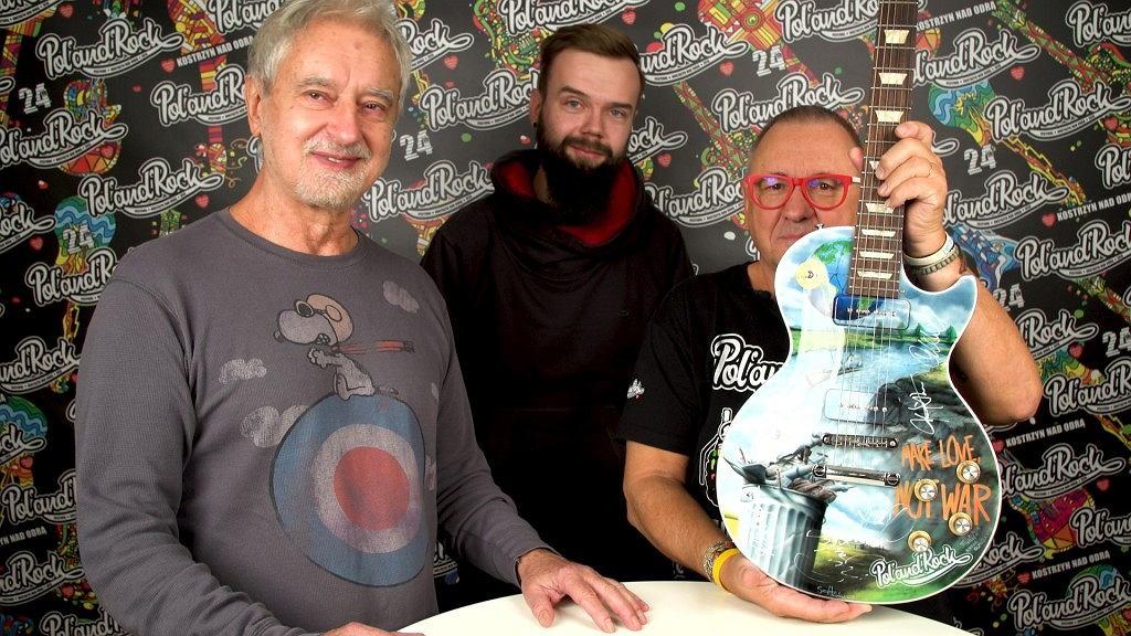 WOŚP 2019. Gitara z grafikami Rafała Olbińskiego / mat.pras.