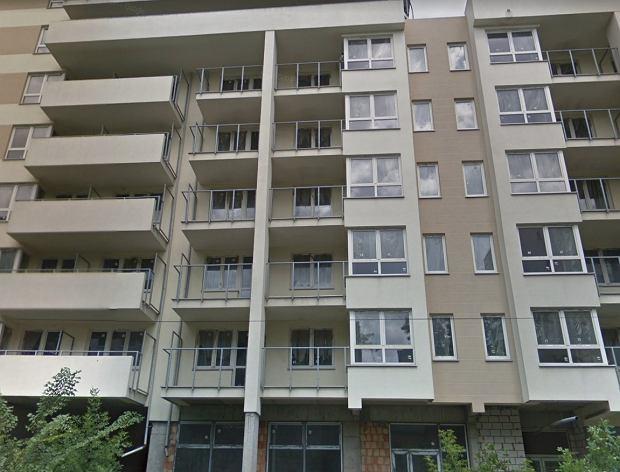 Blok widmo przy ul.Borzymowskiej w Warszawie