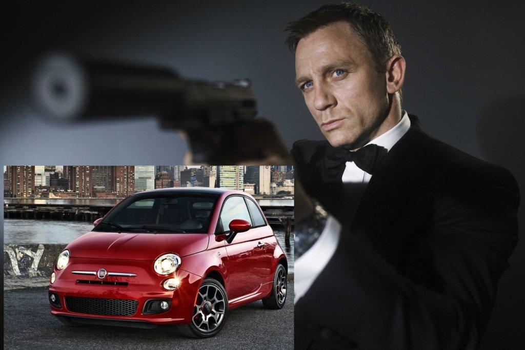 Fiat 500 / Jamses Bond