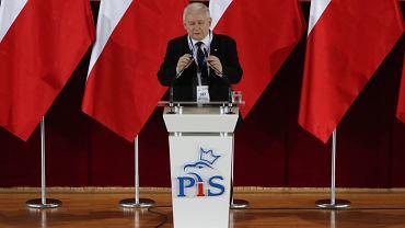 Wystąpienie Prezesa PiS Jarosława Kaczyńskiego z okazji rocznicy pierwszych częściowo wolnych wyborów 4 czerwca 89