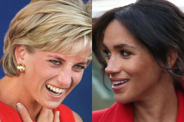 Księżna Diana i Meghan Markle
