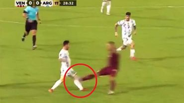 Messi brutalnie sfaulowany