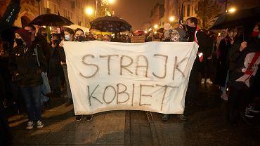 Blokada ulic w Lodzi