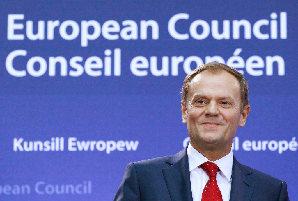 1 grudnia 2014 r. Donald Tusk zaczyna pracę na stanowisku przewodniczącego Rady Europejskiej