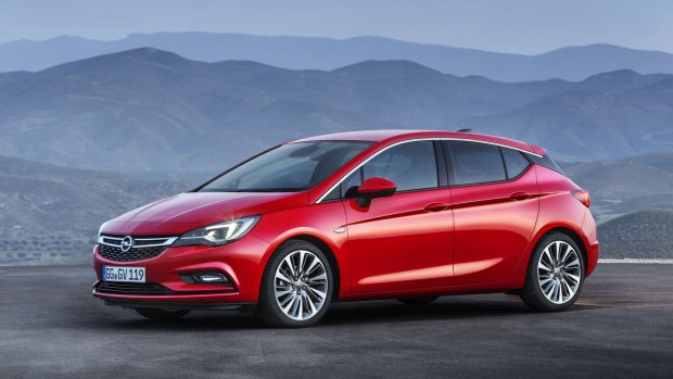 Nowy Opel Astra V na targach Fleet Market 2015