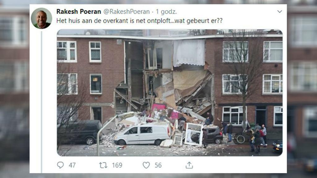 Eksplozja w Hadze