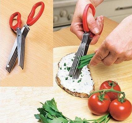 1. Nożyczki do ziół i szczypiorku