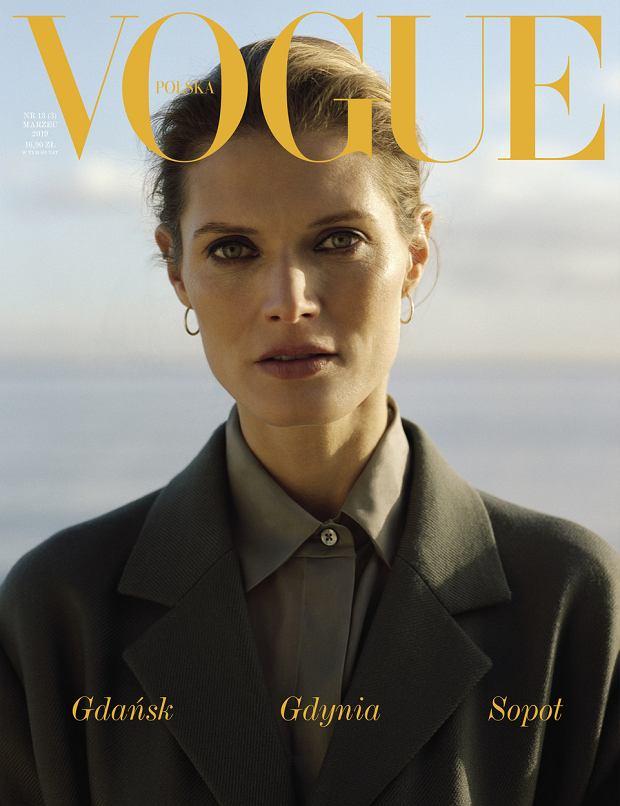 Małgosia Bela na okładce 'Vogue'a'