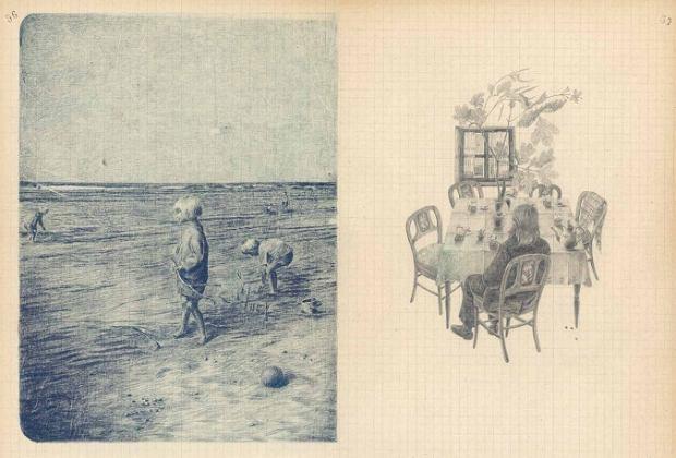 Joanna Concejo, Ilustracje do książki Olgi Tokarczuk 'Zgubiona dusza'