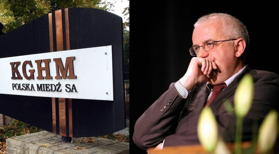 Sąd nie zgodził się na wniosek KGHM, by zabronić 'Wyborczej' pisania o chrześniaku wiceprezesa PiS