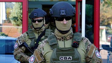 Funkcjonariusze CBA. Zdjęcie ilustracyjne