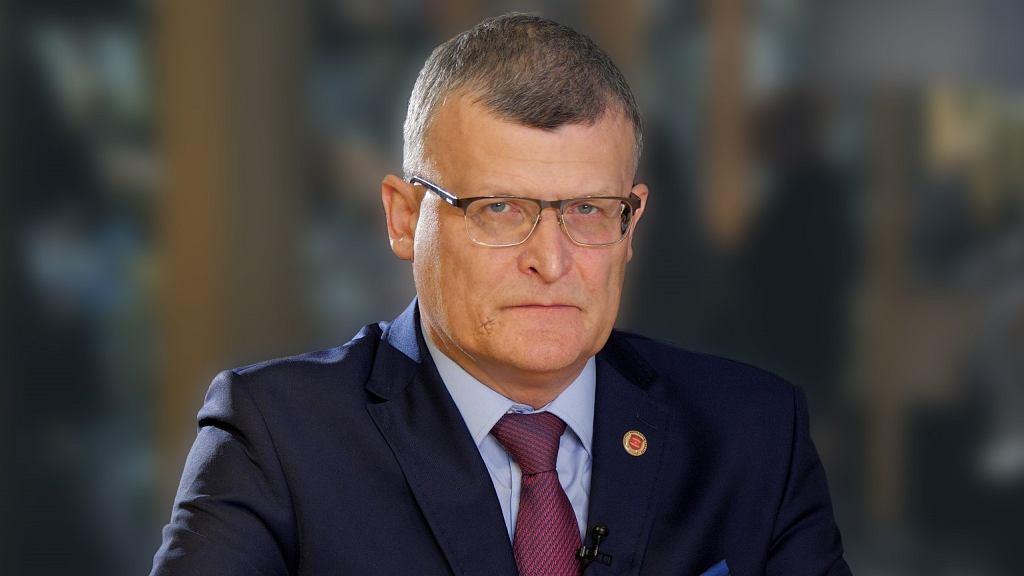 Dr Paweł Grzesiowski, ekspert Naczelnej Rady Lekarskiej do walki z COVID-19