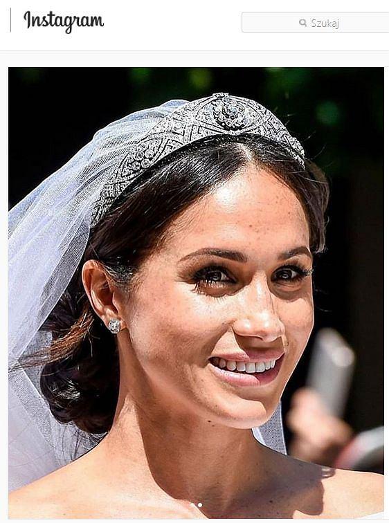 Meghan w naturalnym makijażu