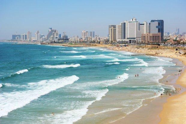 Plaża miejska w Tel Awiwie/ Fot. Shutterstock