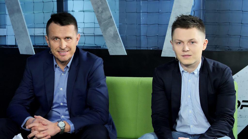 Leszek Ojrzyński i Tomasz Ćwiąkała w Sekcji Piłkarskiej