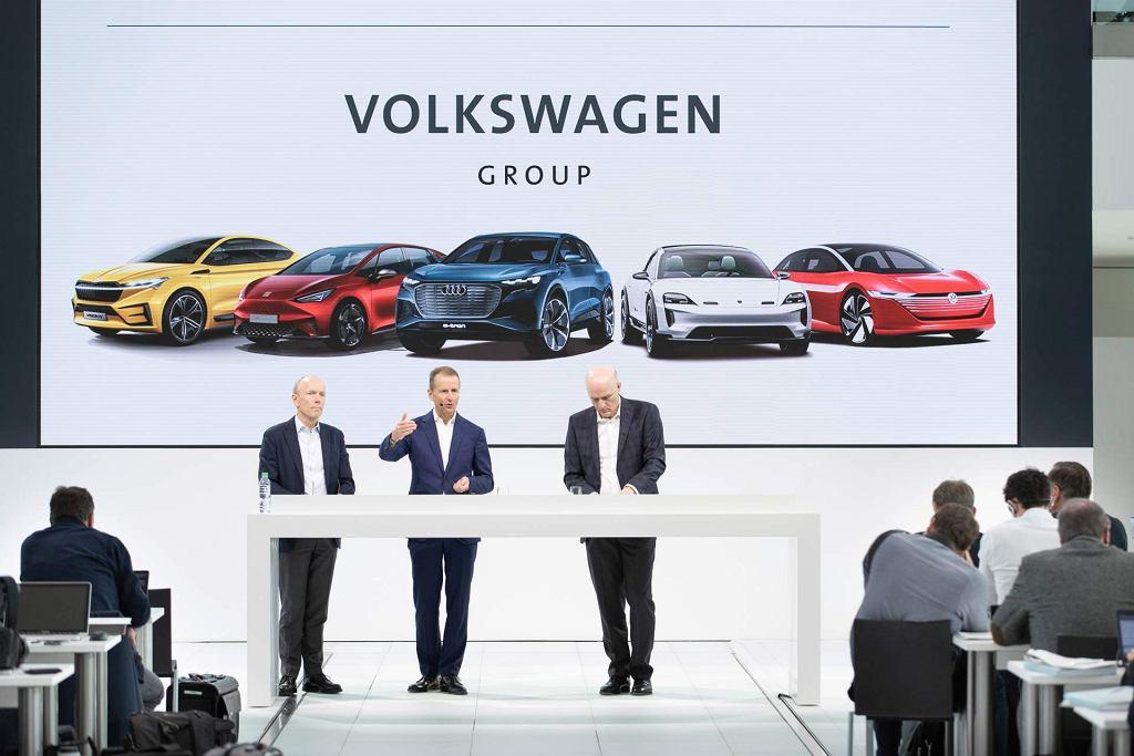 Konferencja Volkswagena o samochodach elektrycznych