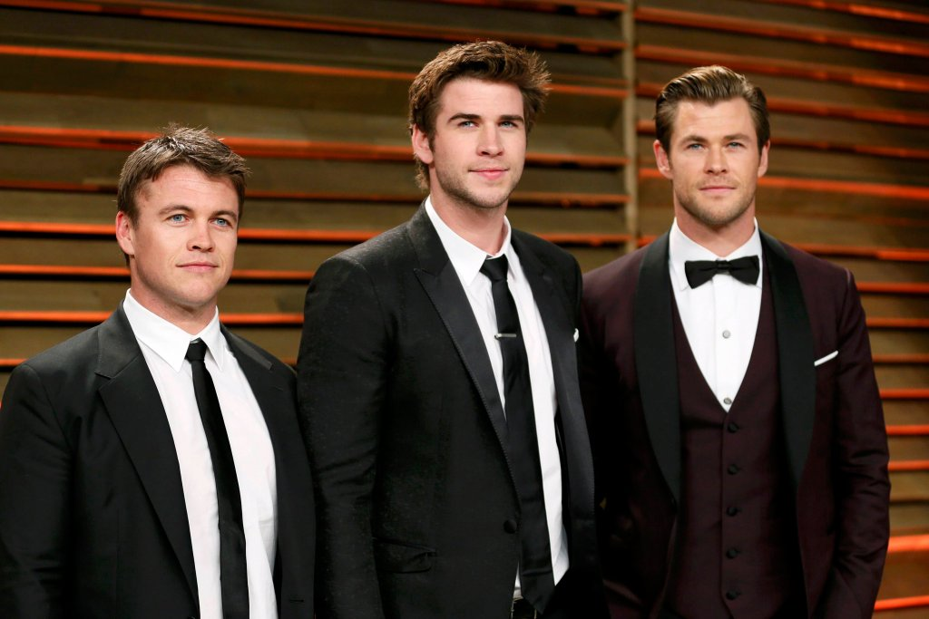 Luke Hemsworthm, Liam Hemsworth, Chris Hemsworth