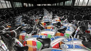 Noclegownia rowerów Veturilo