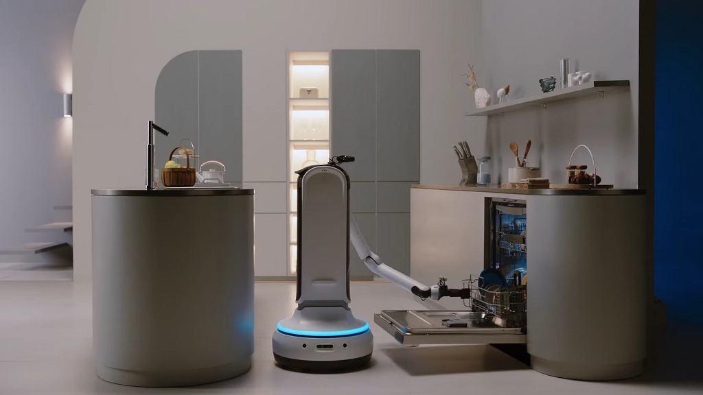 Samsung zaprezentował robota Samsung Bot Handy