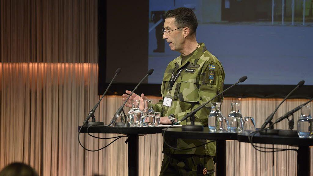 Najwyższy dowódca szwedzkich sił zbrojnych Micael Byden