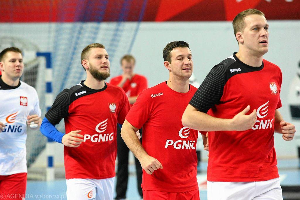 Trening polskiej reprezentacji w płockiej Orlen Arenie