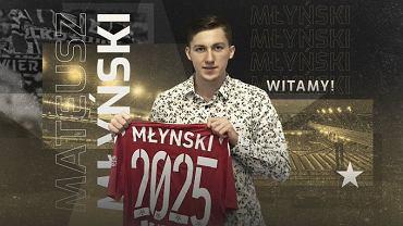 Mateusz Młyński został piłkarzem Wisły Kraków