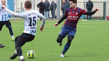 1 lutego 2020 r., sparing piłkarski na nowym boisku przy ul. Żwirowej w Gorzowie Warta Gorzów - Świt Szczecin 1:3 (1:1)