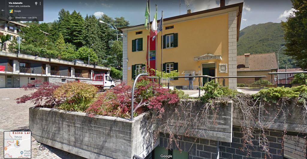 Miejscowość Esina Lario we Włoszech