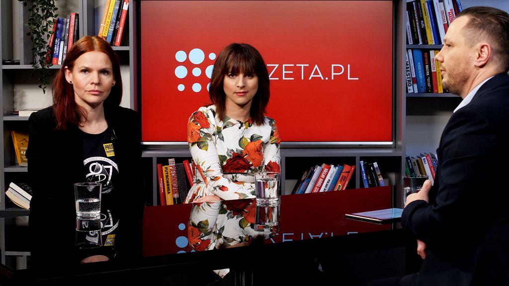 Katarzyna Nowak-Zawadzka i Justyna Suchecka
