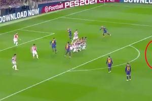 Cudowny strzał Messiego! Bramkarz nawet nie interweniował! Nie miał szans [WIDEO]