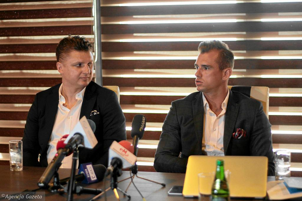Marek Citko i Jakub Meresiński