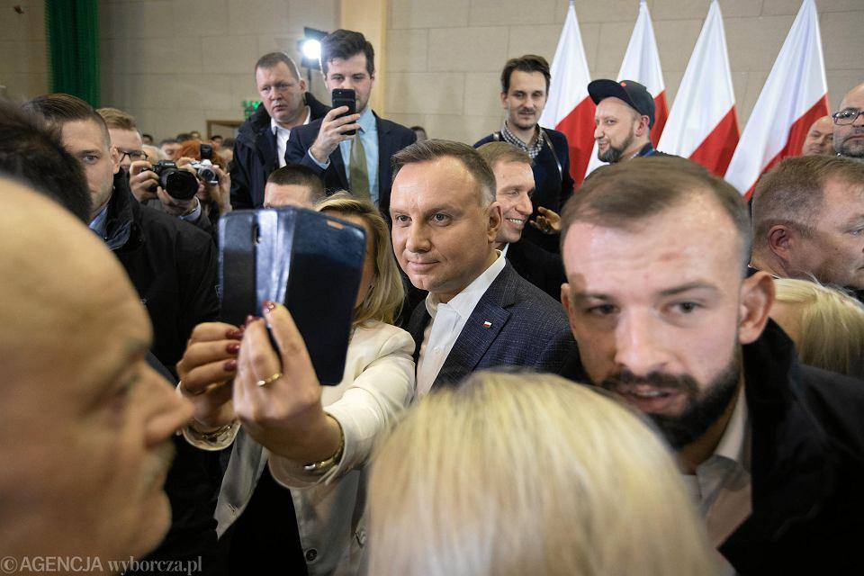 Wybory prezydenckie 2020. Andrzej Duda inauguruje kampanię prezydencką w Wielkopolsce