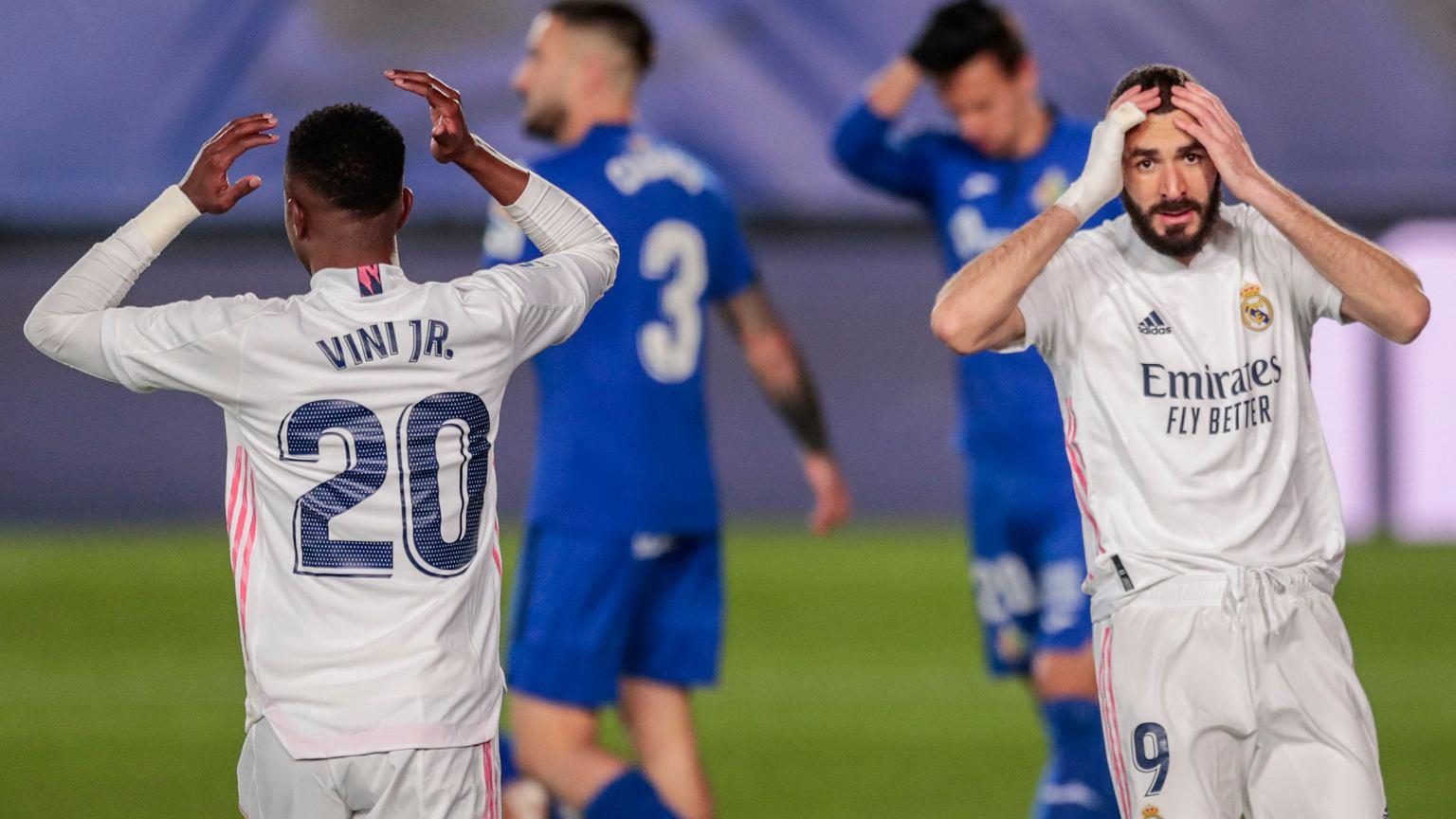 Zidane zmienił system. Połowa Realu wygrała z Getafe 2:0
