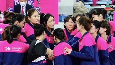 Koreańska drużyna Pink Spiders (siatkówka kobiet). Źródło: INstagram