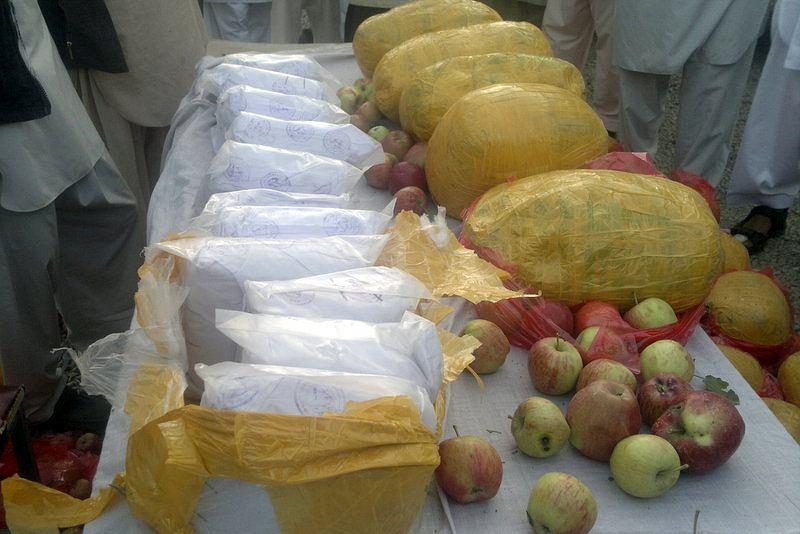 Afgańska policja przejęła narkotyki w Prowincji Ghazni