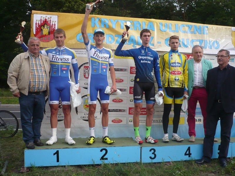 Od lewej: Cezary Łączkowski Piotr Klimkowski Kacper Walkowiak Kajetan Albanowski